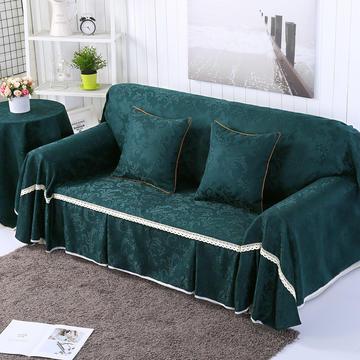 提花系列万能盖巾沙发套沙发巾抱枕套桌布