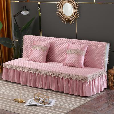 意大利绒沙发床罩万能盖巾沙发垫沙发套罩 1.5m 粉