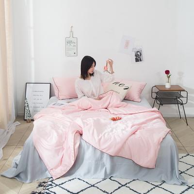 2019新款-水韵真丝夏被 1.5*2.0m 魅力粉