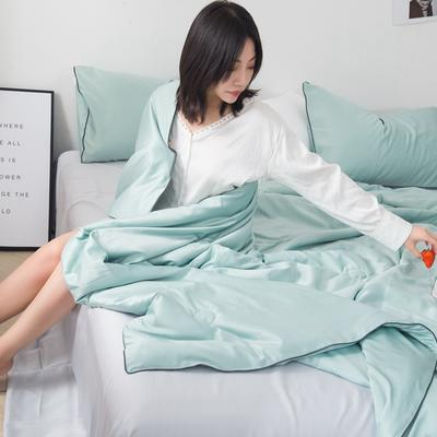 2019新款-水韵真丝夏被 1.5*2.0m 优雅绿