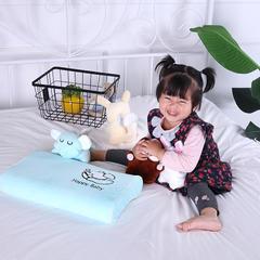 2018新品泰国皇家卡通儿童乳胶枕 45*28*5 天蓝大象