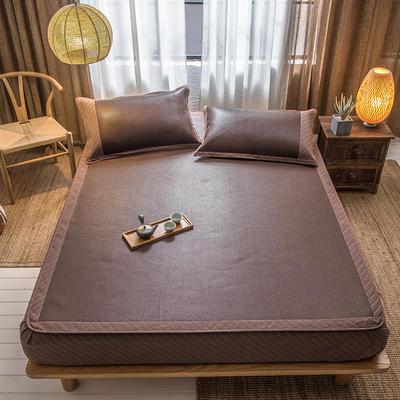 2020新款席佬大席业 印尼藤床笠款 150 ×195cm 暖阳