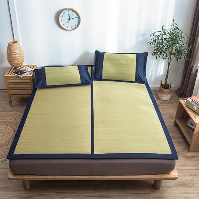 2019席佬大日式蔺草席 1.2m(4英尺)床 蓝色