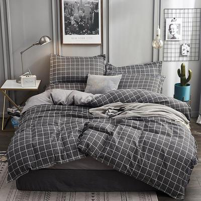 2019新款植物羊绒四件套 1.2m床单款三件套 布拉格