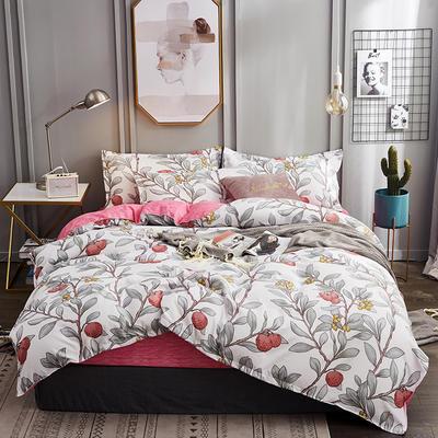 2019新款植物羊绒四件套 1.2m床单款三件套 励志生活