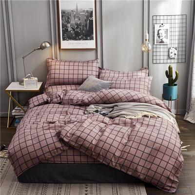 2019新款植物羊绒四件套 1.2m床单款三件套 梦格