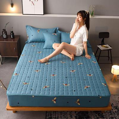 2020新款磨毛单品床笠 150cmx200cm夹棉款 潮流