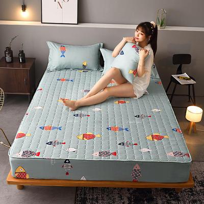 2020新款磨毛单品床笠 180cmx200cm夹棉款 休闲时光