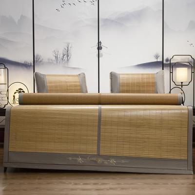 2021新款双面刺绣竹席(单件套 不含枕套 ) 180x200cm 锦瑟蔺