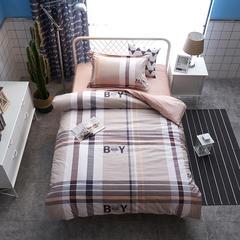 13372棉加绒三件套 1.2m(4英尺)床 爱相随