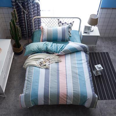 2019新款13372棉加绒三件套 1.2m(4英尺)床 旋律空间