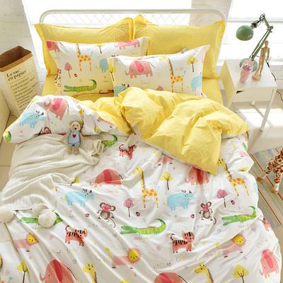 全棉 舒适 13372四件套(四个规格) 200*230 童趣时光
