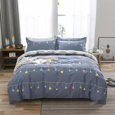 全棉 舒适 13372四件套(四个规格) 200*230 仰望星空