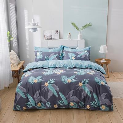 2021新款全棉13372四件套—花卉系列 1.8m床单款四件套 筱梦提香