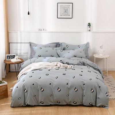 2021年新款全棉13372四件套—时尚个性系列 1.8m(6英尺)床 小恋曲