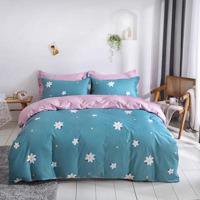2021年新款全棉13372四件套—时尚小花系列 1.5m(5英尺)床 花的寄语