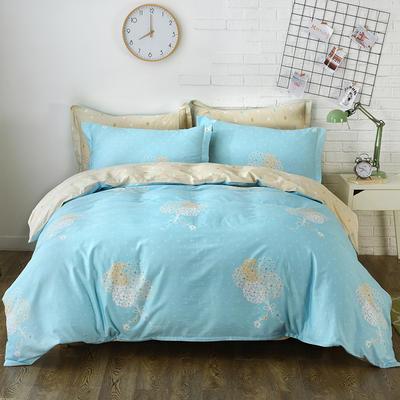 2021年新款全棉13372四件套—时尚小花系列 1.5m(5英尺)床 清幽花香