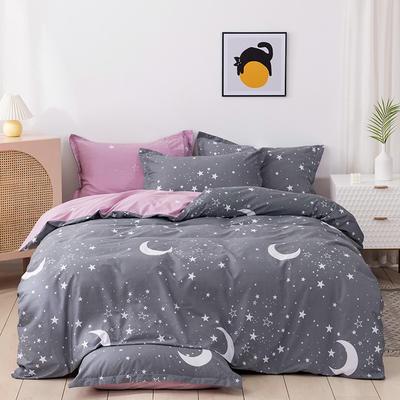 2021年新款全棉13372四件套—时尚星空系列 1.8m(6英尺)床 灿若繁星