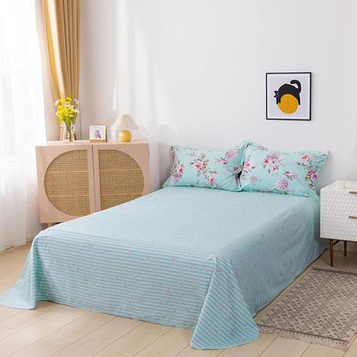 2021年全棉13372单品床单 245cmx250cm 初装花蕊