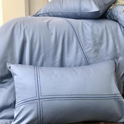 2018新款60支柏林(五色)单枕套 48cmX74cm 60支柏林(蓝色)