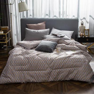 2018新款-全棉磨毛臻品冬被被子被芯 200X230cm/7斤 筑梦