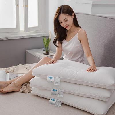 2019新款-全棉A类抗菌防螨枕芯 48*74cm100克