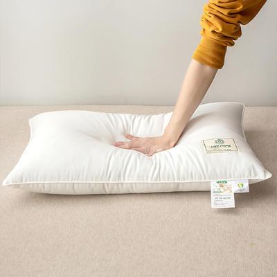 2020新款-A类大豆抗菌枕芯 48*74白色1200克