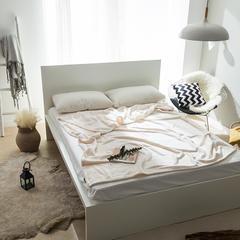 单层菠萝格毯子 150*230cm 白色-菠萝格