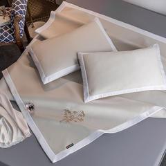 凡客家居2019春夏新品5D冰感丝工艺凉席三件套 1.5mX2.0m 竹韵 米白