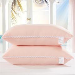 花边水洗棉枕(45*70cm) 玉色