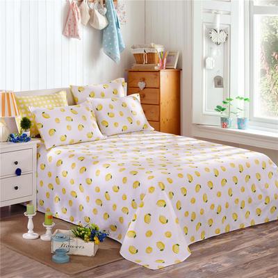 12868系列四件套(单品床单) 160*230cm 一颗柠檬A