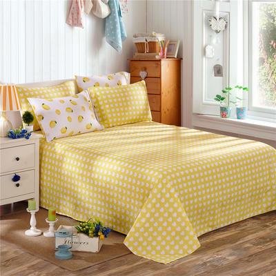 12868系列四件套(单品床单) 160*230cm 一颗柠檬B