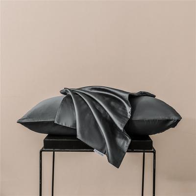 2020新款60s纯色单品枕套 48cmx74cm/一只 纯色-奥丁灰