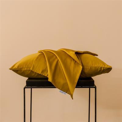 2020新款60s纯色单品枕套 48cmx74cm/一只 纯色-奥丁金