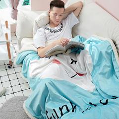 元元被业  新增网红毛毯系列 1.2*1.5m 10云朵