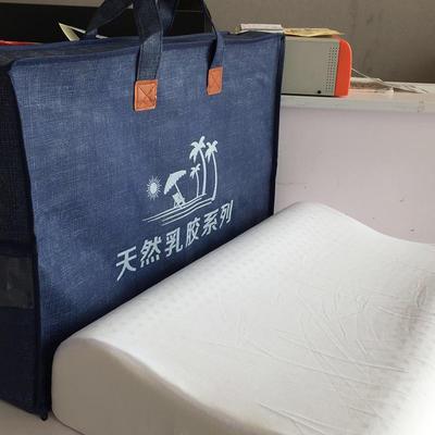 2020新款包装发布 自定义 乳胶枕包装-立体拉链款