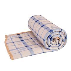 【云仓闪发】南极人电热毯电褥子单人 双人双控智能控温电热垫电热毯 双人 170*150cm 兰格