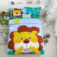 儿童大版三件套 小萌狮 1.2M-1.35M床 小萌狮