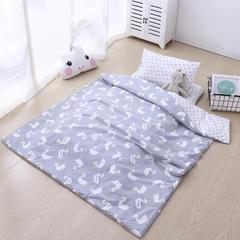 宝宝婴儿皇冠床围套件 婴儿床多件套 床围 被子 床垫 小天鹅 均码 小天鹅套餐E