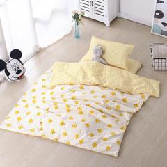 宝宝婴儿皇冠床围套件 婴儿床多件套 床围 被子 床垫 小黄鸡 均码 小黄鸡套餐F