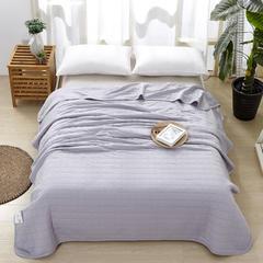 竹纤维针织盖毯 夏被 150x200cm 灰色