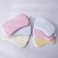 天鹅绒记忆棉儿童枕系列 小号:37*23*3cm 粉色