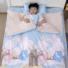 儿童活性彩棉防踢被 纯棉 婴童睡袋 被子 小童大童 120*150换洗防踢被套(不含内胆)