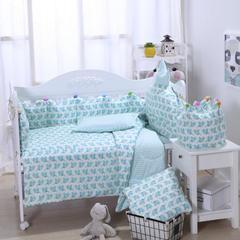 2018新款婴幼儿皇冠床围套件 D套餐 小象