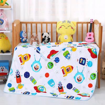 婴幼童夏被13372全棉包边款  太空旅行
