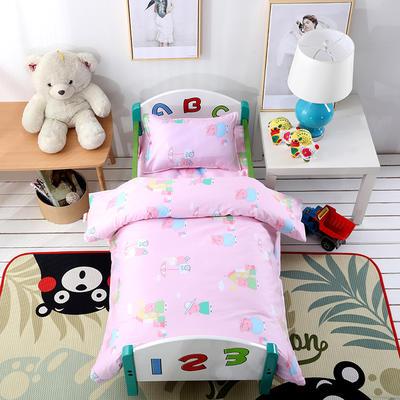 幼儿园小版套件   小猪佩奇-粉 均码 三件套
