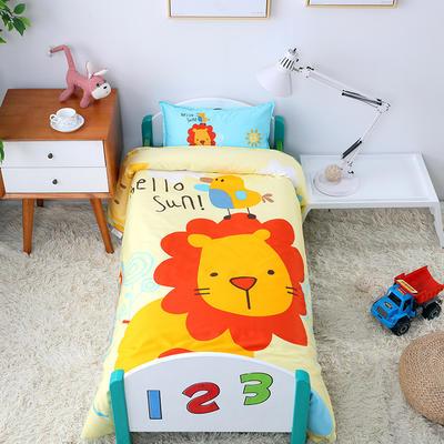 幼儿园大版套件   狮子王 均码 棉花双胆七件