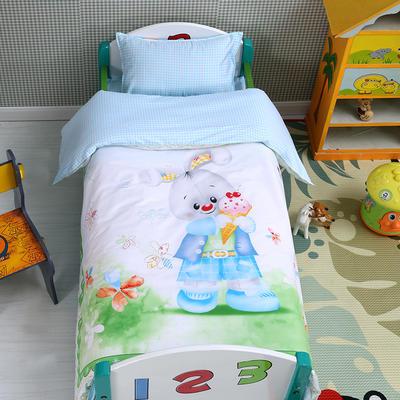 幼儿园大版套件  大白兔 均码 三件套