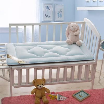水晶绒儿童床褥(床垫) 60*120 粉