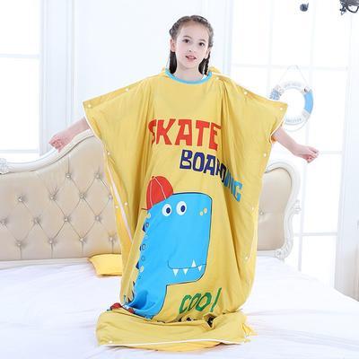 2019新款睡袋 滑板恐龙(88cm*120cm睡袋套)